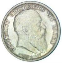 Germany / Baden / 2 Mark / 1907