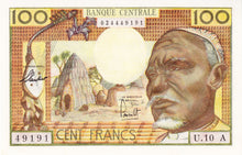 Equatorial African States / P-3a / 100 Francs / ND (1963) / Chad