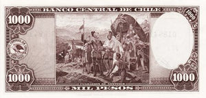 Chile / P-116 / 1000 Pesos / ND (1947-59)
