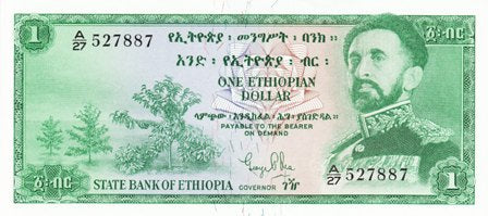 Ethiopia / P-18a / 1 Dollar / ND (1961)
