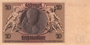 Germany / P-181b / 20 Reichsmark / 22.01.1929