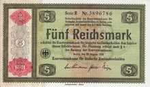 Germany / P-207 / 5 Reichsmarkark / 1934
