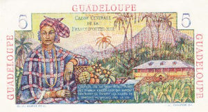 Guadeloupe / P-31 / 5 Francs / ND (1947-49)