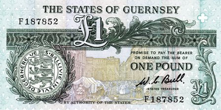 Guernsey / P-48a / 1 Pound / ND (1980-89)