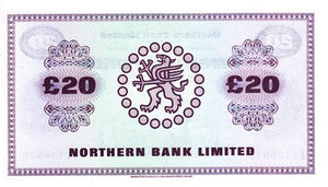 Northern Ireland / P-190c / 20 Pounds / 02.03.1987
