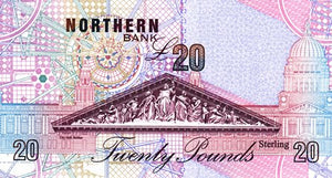 Northern Ireland / P-199b / 20 Pounds / 08.10.1999