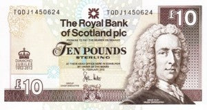 Scotland / P-368 / 10 Pounds / 06.02.2012 / COMMEMORATIVE