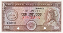 Saint Thomas and Prince Islands / P-38ct / 100 Escudos / ND (1958) / SPECIMEN