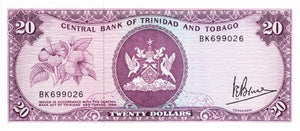 Trinidad and Tobago / P-33a / 20 Dollars / L 1964 (1977)