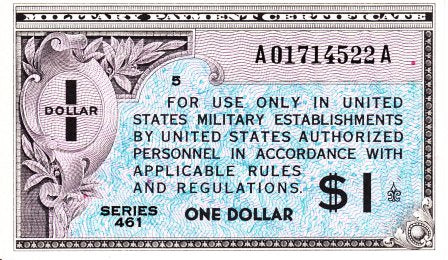 United States / P-M5a / 1 Dollar / ND (1946) / MPC