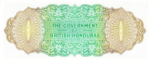 British Honduras / P-28b / 1 Dollar / 01.05.1965