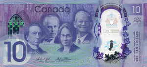Canada / P-New / 10 Dollars / 2017 / COMMEMORATIVE / POLYMER-PLASTIC