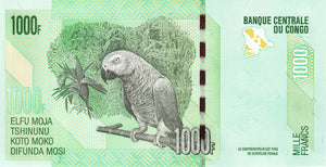 Congo Democratic Republic / P-101b / 1000 Francs / 2013