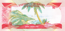 East Caribbean States / P-17a / 1 Dollar / ND (1985-88)