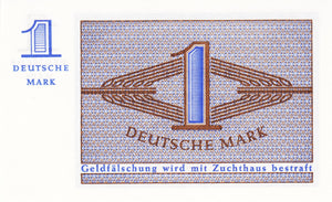 Germany Federal Republic / P-28 / 1 Deutsche Mark / ND
