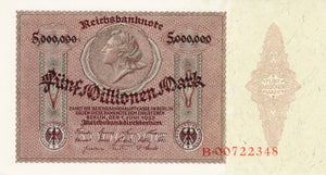 Germany / P-090 / 5 Mio Mark / 01.06.1923