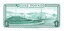 Isle of Man / P-38a / 1 Pound / ND (1983) / TYVEK-PLASTIC