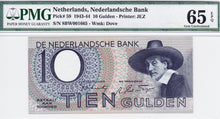 Netherlands / P-59 / 10 Gulden / 07.02.1944