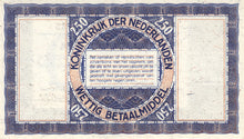 Netherlands / P-62 / 2 1/2  Gulden / 01.10.1938