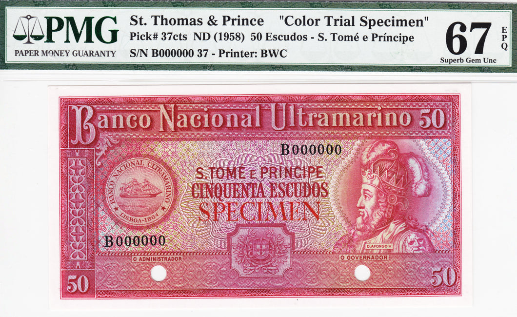 Saint Thomas and Price P-37cts