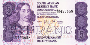 South Africa / P-119c / 5 Rand / ND (1981-89)