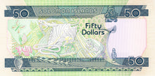 Solomon Islands / P-17a / 50 Dollars / ND (1986)