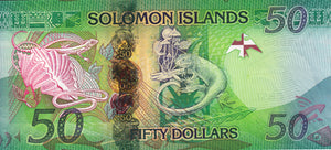 Solomon Islands / P-35 / 50 Dollars / ND (2013) Hybrid
