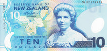 New Zealand / P-186b / 10 Dollars / (20)07 / POLYMER-PLASTIC