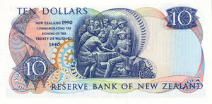 New Zealand / P-176 / 10 Dollars / 1990 / COMMEMORATIVE
