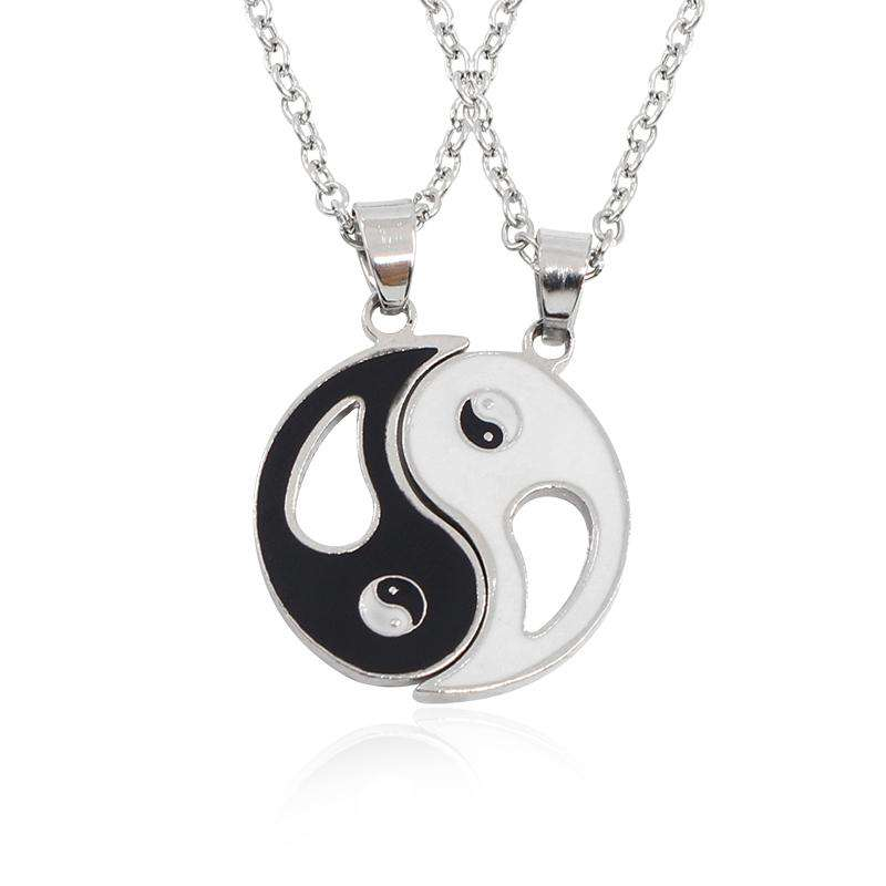 Colliers Ying Yang - L'univers-karma