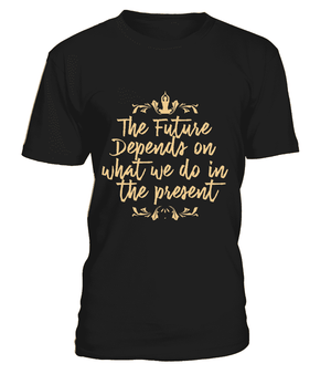 "T Shirt ""The future"" Pour homme - L'univers-karma"