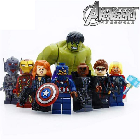 8 PCS Marvel Avengers Minifigure Set
