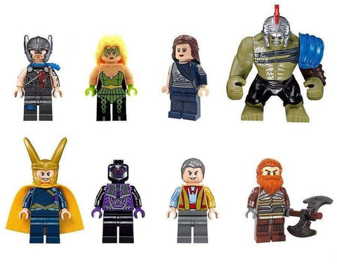 8 PCS Thor Ragnarok Minifigure Set-Minifigure-Milpapa's Toy Shop-Milpapa's Toy Shop