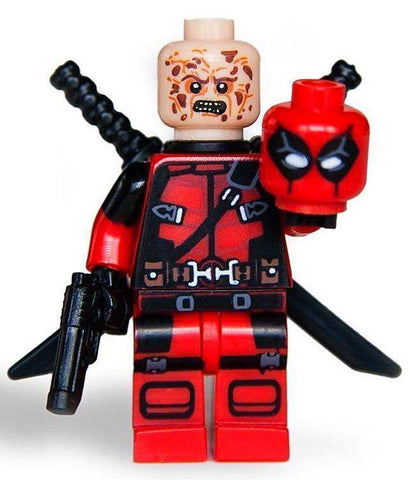 Deadpool - Marvel Movie Minifigure-Minifigure-Milpapa'sToyShop-Milpapa's Toy Shop