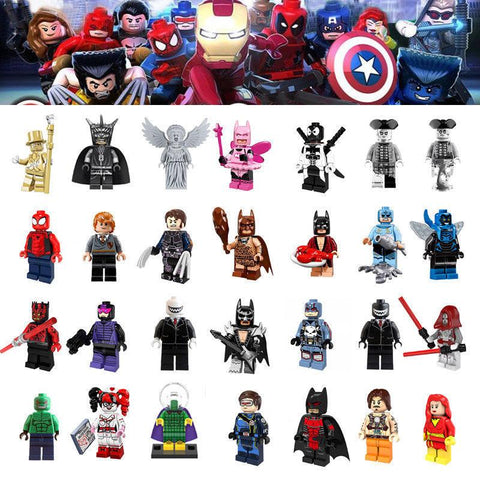 DC Marvel Superhero Minifigures CHOOSE YOUR FAVORITE-Minifigure-Milpapa's Toy Shop-Milpapa's Toy Shop