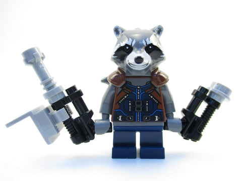 Rocket Raccoon - Marvel Guardian Of The Galaxy Movie Minifigure-Minifigure-Milpapa'sToyShop-Milpapa's Toy Shop