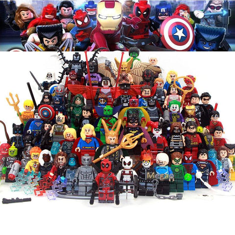 Super Heroes DC Building Blocks Batman Movie DIY Lego Figure Toys Children Gift-Minifigure-Milpapa's Toy Shop-Milpapa's Toy Shop