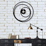 Metal Wall Clock / Non Concentric
