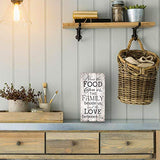 Bless The Food Family and Love/Kitchen Decoration