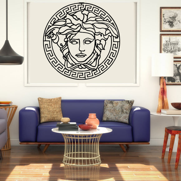MEDUSA METAL WALL DECOR / GREEK MYTHOLOGY