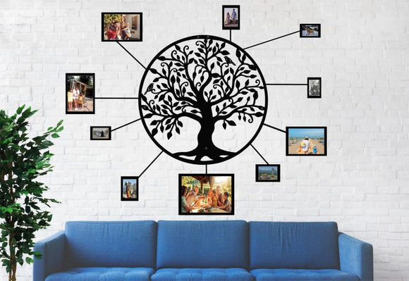 Family Tree /Tree of Life / 3D Metal Wall Art