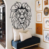 Lion Head - Metal Wall Art