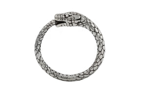 "Ring ""Snake"" without stones. Silver."