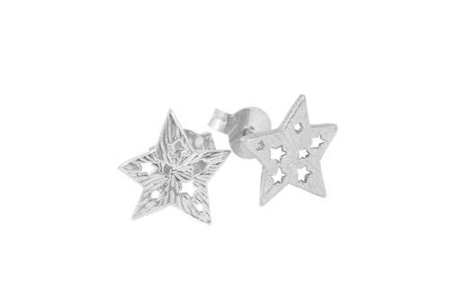 Studs 5-pointed stars