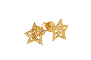 Studs 5-pointed star studs