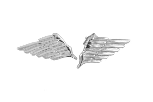 Angel wings studs