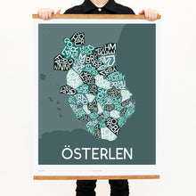 madmap osterlen poster vintage canvas print green