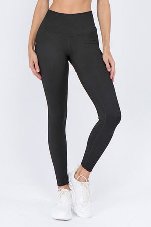 "Momentum Lux Satin High-Rise 28"" Legging - MEAS Active"