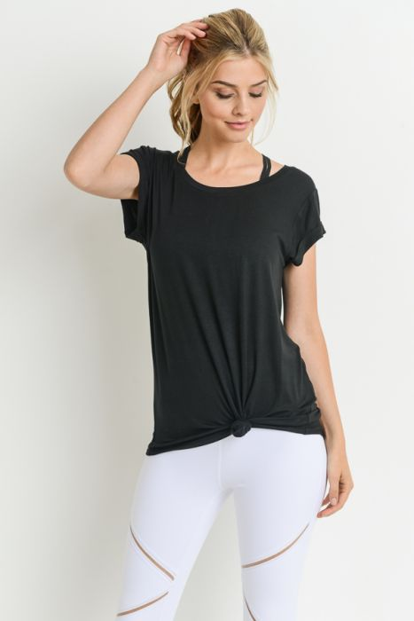 Essential Drapey Tee - MEAS Active