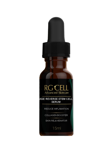 AGE REVERSE STEM CELL SERUM **New Formulation** (Available in 15ml, 60ml, & 120ml)